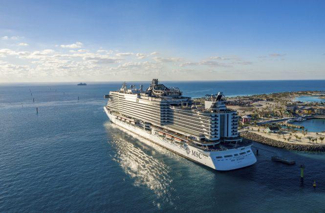 MSC Cruises verlängert die vorübergehende Einstellung des weltweiten Flottenbetriebs