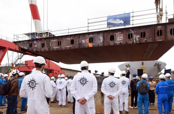 MSC Cruises feiert Meilenstein der LNG angetriebenen MSC World Europa