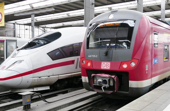 Deutsche Bahn - Fernverkehr mit bester Pünktlichkeit seit 2008