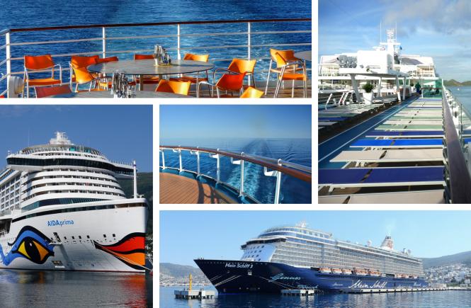 Wettrennen zwischen AIDA und TUI Cruises
