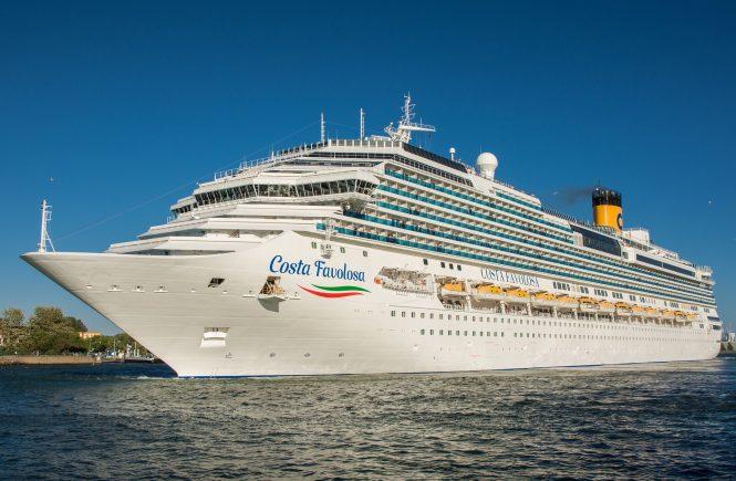 Costa Kreuzfahrten führt Covid-19-Tests für alle Gäste an Bord seiner Schiffe ein