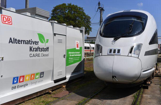 Deutsche Bahn verzichtet auf Diesel