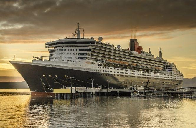 Weltreise 2022 mit der Queen Mary 2 - Cunard Line