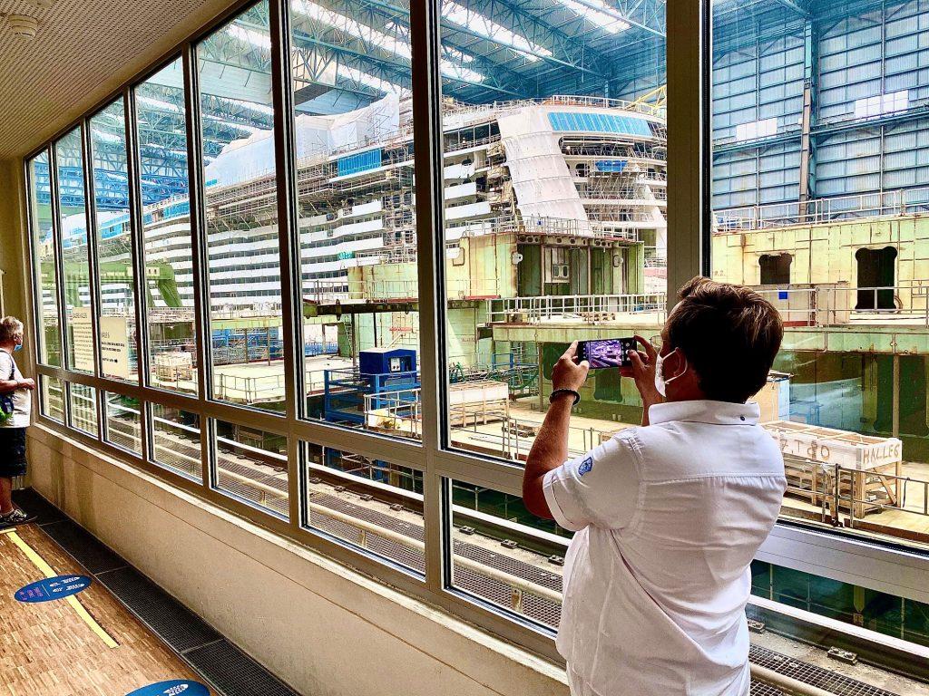 Meyer Werft - Den Bau von zwei Kreuzfahrtschiffen live erleben