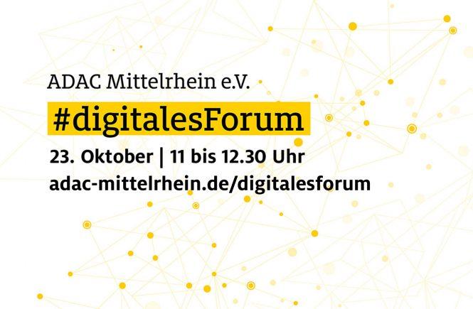 #digitalesForum: Tourismus in Corona-Zeiten – wo geht die Reise hin - ADAC Mittelrhein