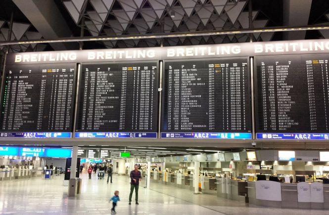 Die Flaute am Flughafen Frankfurt