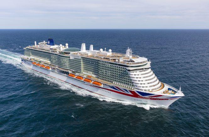 MEYER WERFT liefert Iona an P&O Cruises ab
