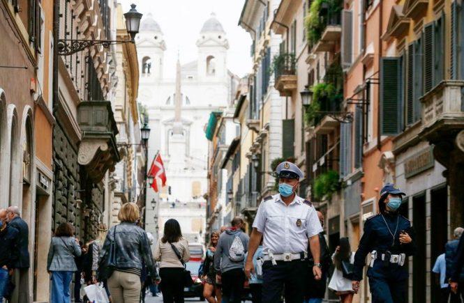 Italien plant landesweite Maskenpflicht im Freien