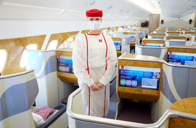 "Emirates laut ""Safe Travel Barometer"" sicherste Airline der Welt"