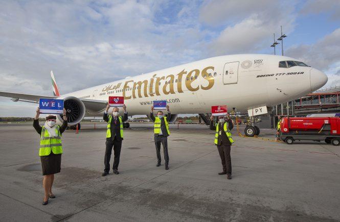 Emirates ist zurück am Hamburg Airport