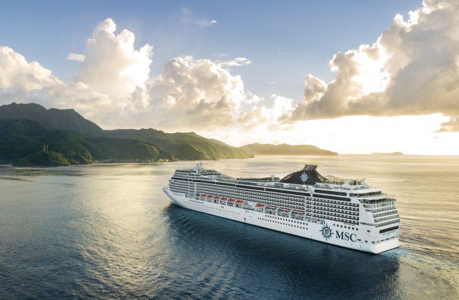 MSC Cruises setzt die Abfahrten der MSC Magnifica vorübergehend aus
