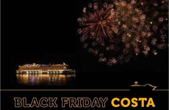 Singles und Paare aufgepasst: Black Friday Angebote von Costa Kreuzfahrten