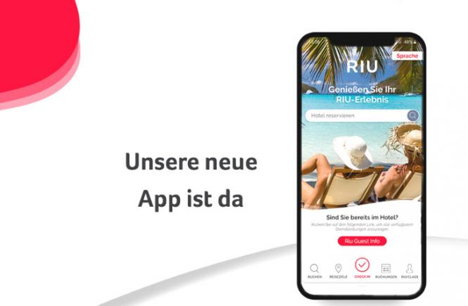 RIU Hotels präsentiert neue App