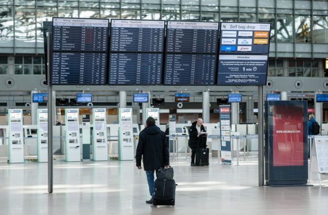 Fünf Millionen Passagiere am Hamburger Airport 2020