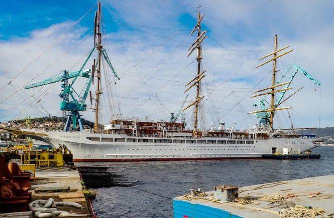 Sea Cloud Spirit soll im April auf Reisen gehen