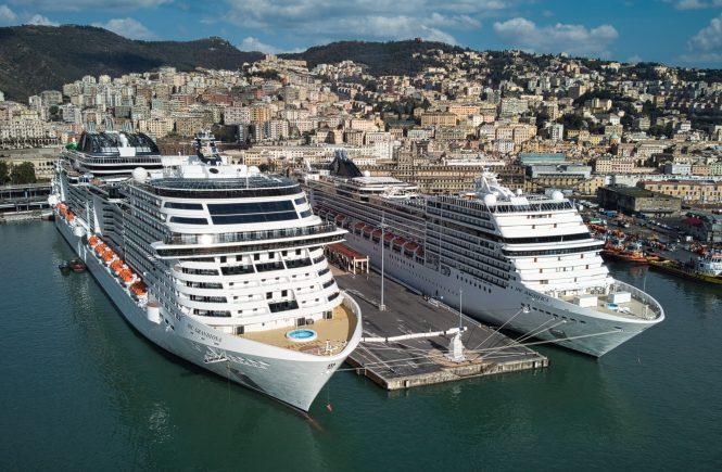 Die MSC Grandiosa nahm gestern wieder ihren Betrieb im Mittelmeer auf!
