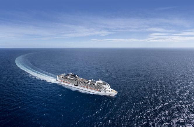 MSC Cruises forscht gemeinsam mit Branchenführern an kohlenstoffarmen Lösungen für die Schifffahrt