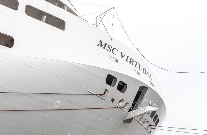 MSC Cruises hat heute die MSC Virtuosa von der Werft übernommen