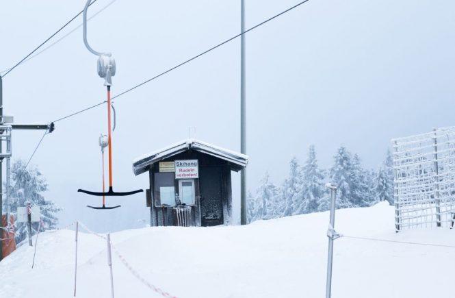 Skistart in Winterberg