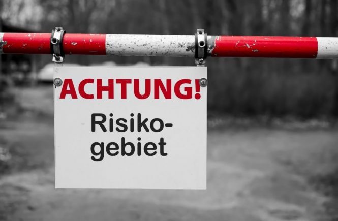Aktuelle Risikogebiete