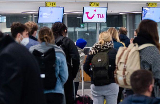 Tui zählt 90 Prozent weniger Kunden seit Beginn der Pandemie