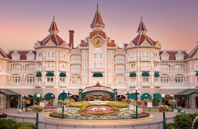 Premiere der Prinzessinnen im Disneyland Hotel