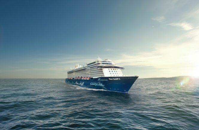 Das Reisejahr 2021 nimmt bei Mein Schiff Fahrt auf