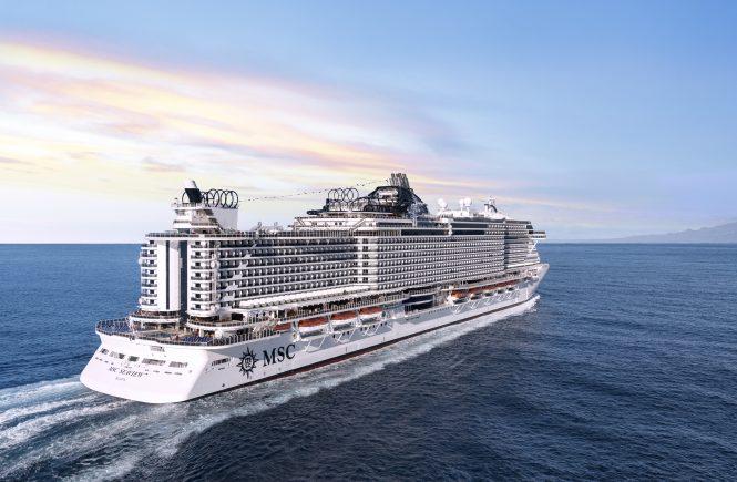 MSC Cruises startet ab dem 3. Juli mit der MSC Seaview ab Kiel
