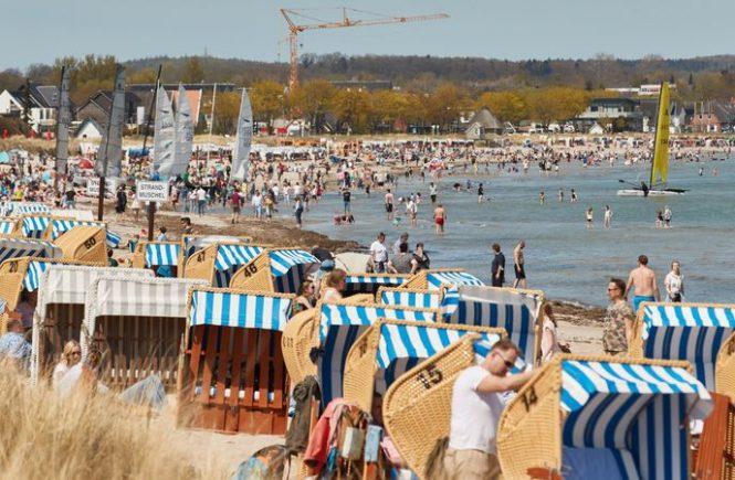 Pfingstwochenende: Viele Urlauber an Nord- und Ostsee