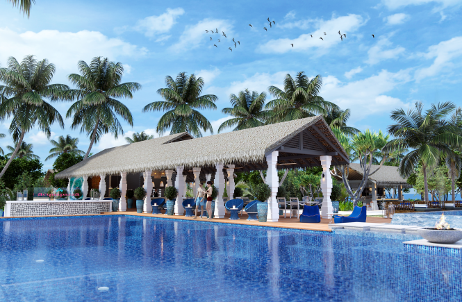 In 100 Tagen feiert das Cora Cora Maldives Resort im Raa Atoll große Eröffnung