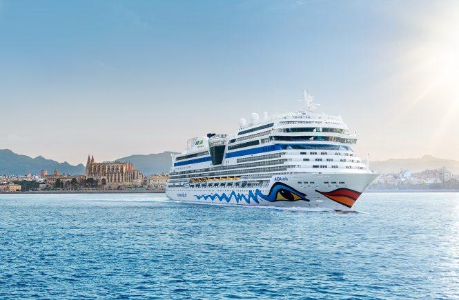 AIDAstella startet im Mittelmeer