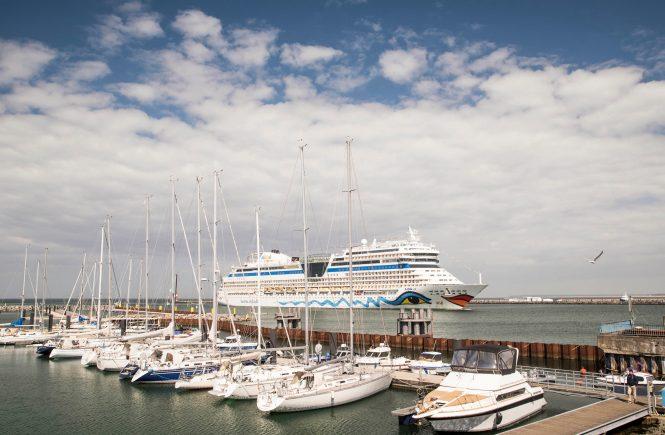 AIDAsol - Gast der Hanse Sail 2021