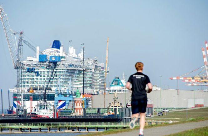 Columbuskaje in Bremerhaven für Kreuzfahrtschiffe wird erneuert