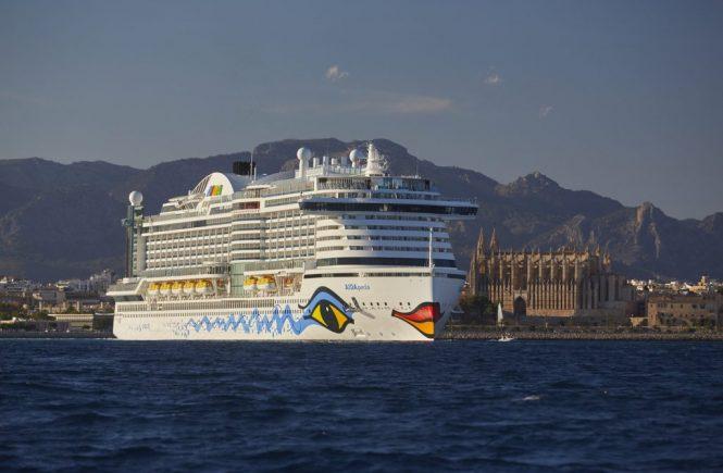 AIDA Cruises will bereits 2040 emissionsneutral auf Kurs sein