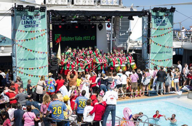 2022 sticht der Jeckliner von TUI Cruises erneut in See