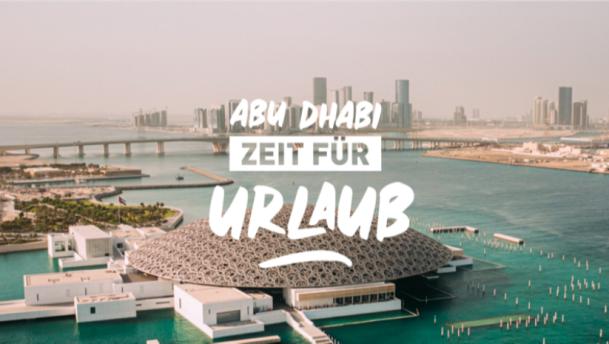 Abu Dhabi heißt mit Kreativkampagne Reisende aus aller Welt wieder herzlich willkommen
