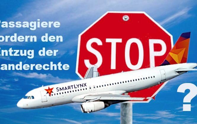 """Die renommiere Schweizer Zeitung """"Blick"""" titele im Sommer 2021 über die lettische Billig-Airline SmartLynx: """"Lettische Pannen-Airline sagt Sorry"""" und """"Lettische Skandal-Airline SmartLynx bittet Passagiere um Verzeihung"""" (dies kann und soll hier nicht bewertet werden), was sich nun jedoch SmartLynx auf dem FTI Touristik GmbH Flug 6Y601 am 09. Oktober 2021, von Berlin ins ägyptische Hurghada geleistet hat, lässt Passagiere fordert: """"man sollte dieser Skandal-Airline sofort die Landerechte in der Bundesrepublik Deutschland entziehen, diese Airline ist eine Gefahr für Leib und Leben von FTI Touristik Urlaubern!"""""""