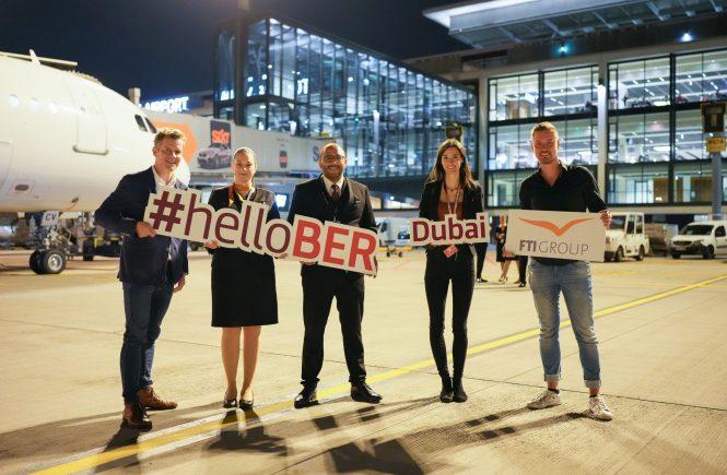 Nonstop von Berlin nach Dubai